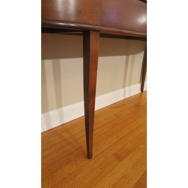 Brown Niermann Weeks Frascati Console Table For Sale - Image 8 of 10