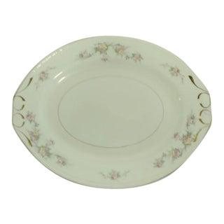 "Vintage Mid 20th Century Homer Laughlin ""Georgian"" Serving Platter, Usa For Sale"