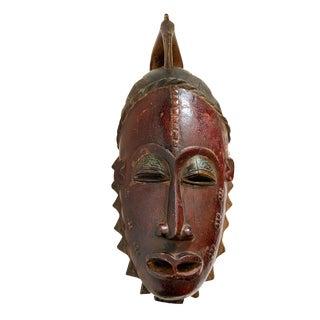 African Guru Portrait Mask Cote d'Ivoire For Sale