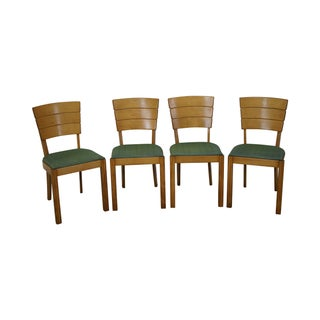 Heywood Wakefield Vintage Dining Chairs - Set of 4