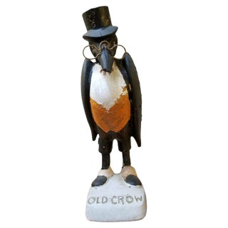 Old Crow Whiskey Advertising Figure For Sale