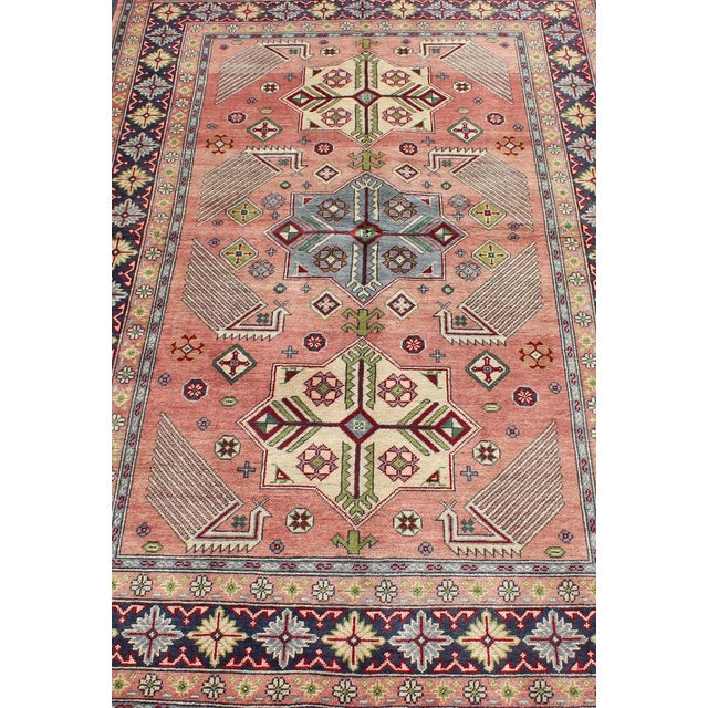 1950s Semi Antique Afshar Rug - 4′ × 6′ For Sale In Atlanta - Image 6 of 12