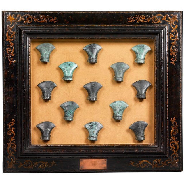 15th Century & Earlier Ancient Celtic Bronze Axe Heads For Sale - Image 5 of 5
