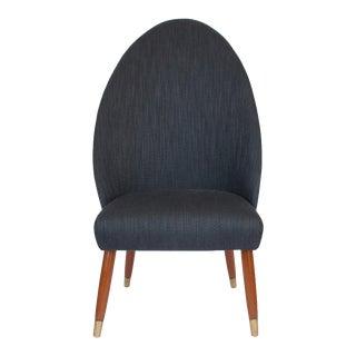 Danish Spoon Back Slipper Chair
