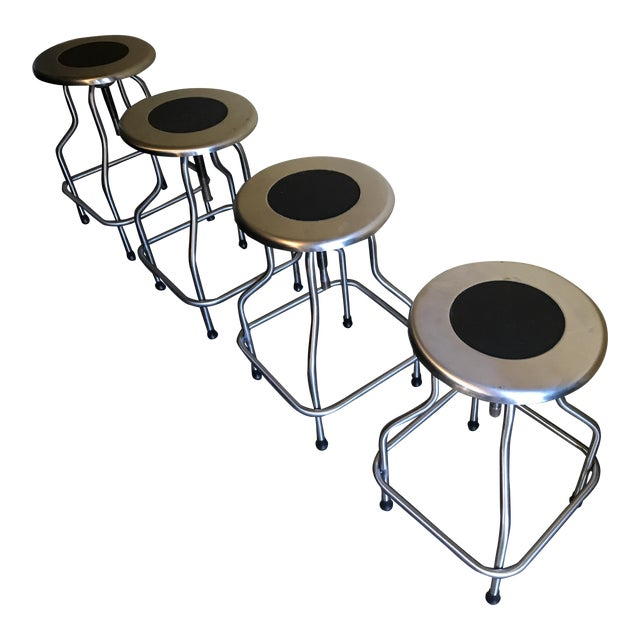 Design Within Reach Precision Stools - Set of 4 - Image 1 of 4