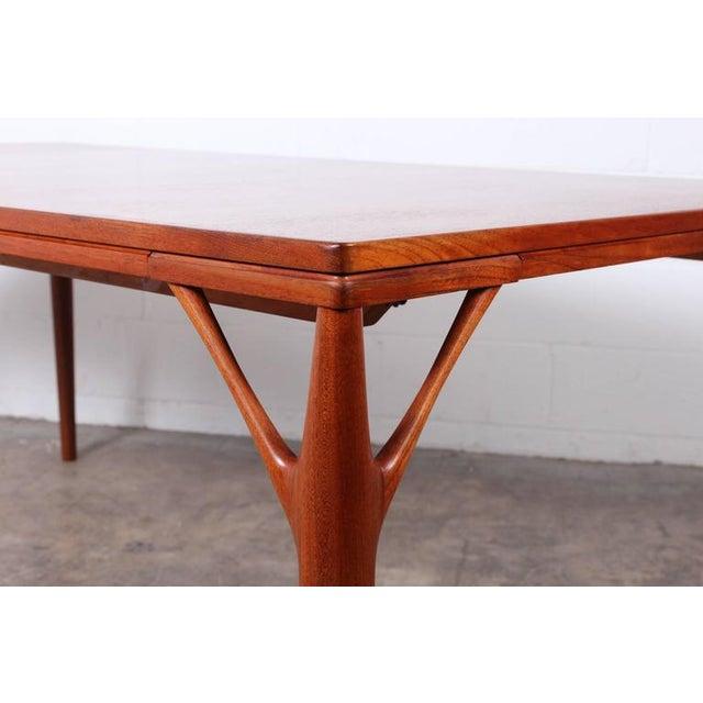 Sculptural Teak Dining Table - Image 3 of 10