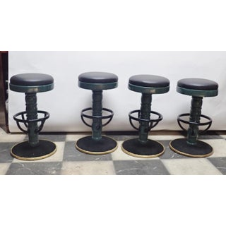 Mid-Century Modern Swivel Bar Stools- Set of 4 Preview