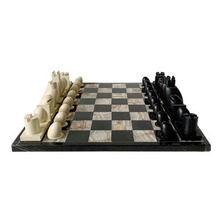 Vintage Michael Graves Art Deco Chess Set For Sale