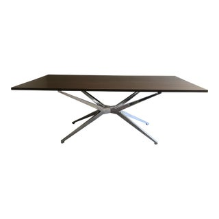 Beautiful Rh- Maslow Spider Walnut Top Desk For Sale