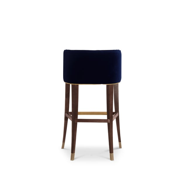 Bourbon Bar Chair From Covet Paris For Sale - Image 4 of 9