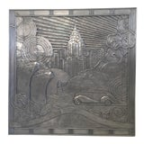 Image of Art Deco New York City Transportation Relief Panel For Sale