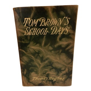 1900 Tom Brown's School Days Leather Book For Sale