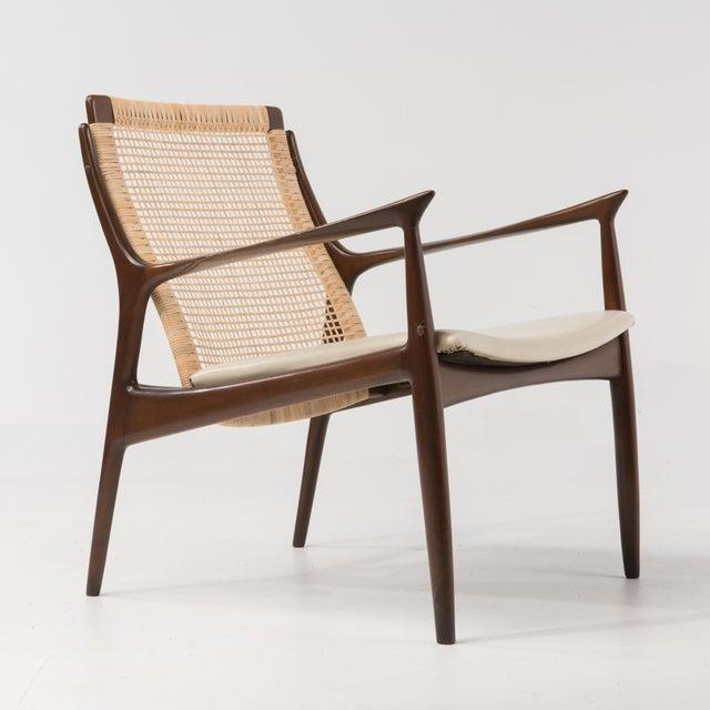 Mid Century Modern Ib Kofod Larsen Selig Armchair For Sale - Image 13 of 13