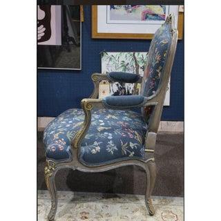 1920s Antique Louis XV Style Bergère Chair Preview