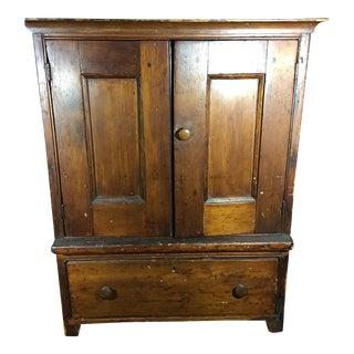 American 1850s Pine Cupboard
