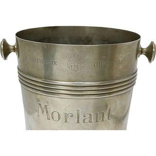 Rare 1940s Christofle Morlant Bistro Champagne Bucket Preview