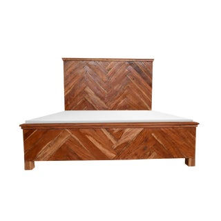 Rustic Miranda Wooden Bed