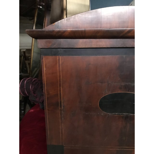 Mid 19th Century Antique Tall Biedermeier Mirror For Sale - Image 4 of 6
