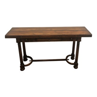 Woodbridge Furniture Console Table For Sale