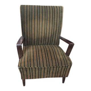 French Moderne Lounge Chair For Sale