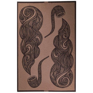 Pipes Yak Blanket, King For Sale