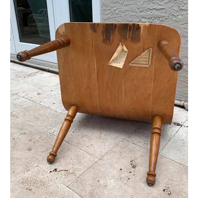Mid Century Carter Brothers 200 Scoop Chair For Sale - Image 12 of 13