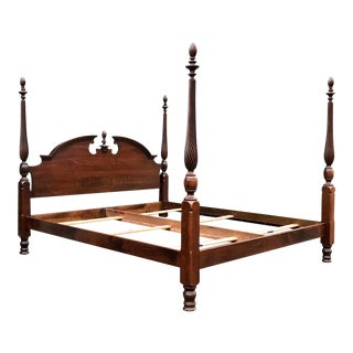 Pennsylvania House Solid Cherry King Bed For Sale