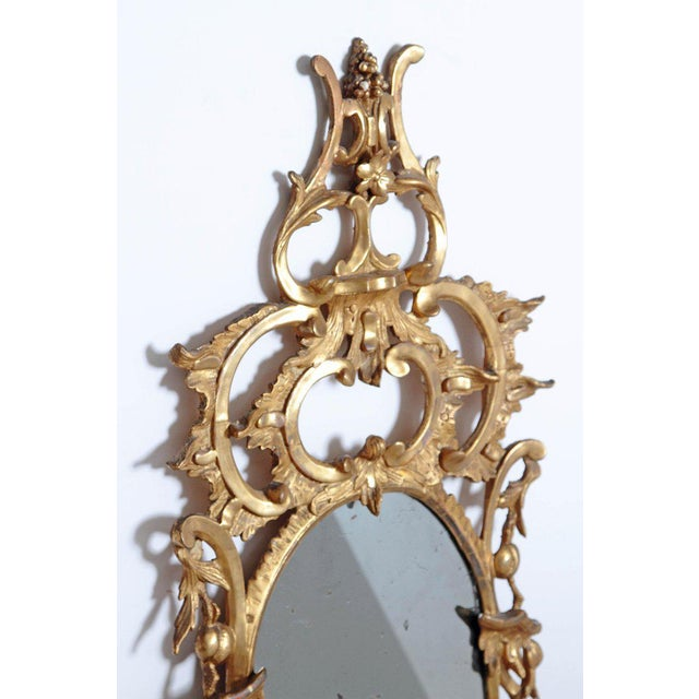 George III Chippendale Style Pier Glass Mirror For Sale - Image 10 of 13
