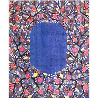 Edouard Benedictus French Deco Rug - 10′10″ × 13′2″ For Sale