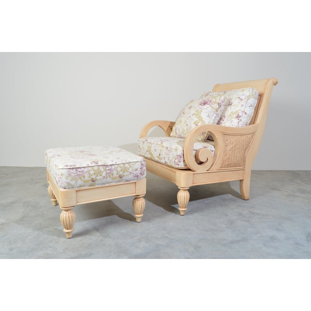 Braxton Culler Grand View Lounge Arm Chair and Ottoman For Sale - Image 9 of 9