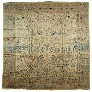 Antique Oushak Rug - 11′7″ × 11′7″