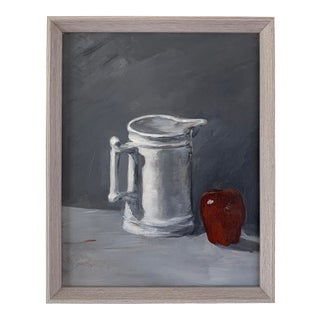 Vintage Still Life Oil Painting For Sale