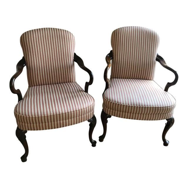 woodmark originals queen anne chairs a pair chairish