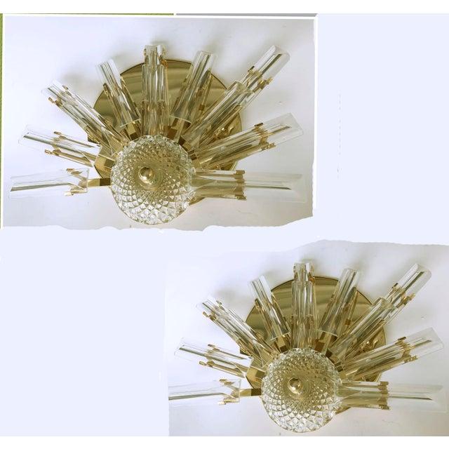 Vintage Stilkronen Crystals Sconces - A Pair For Sale - Image 5 of 5