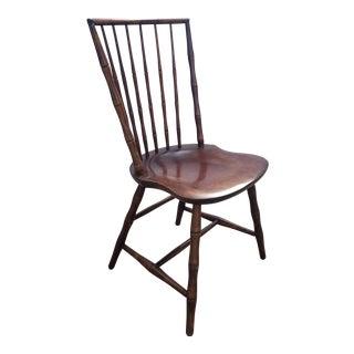 1900s Vintage William Wilt Windsor Chair For Sale