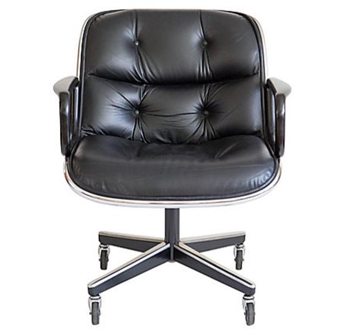 Attractive Charles Pollock Executive Chair By Knoll   Image 3 Of 10