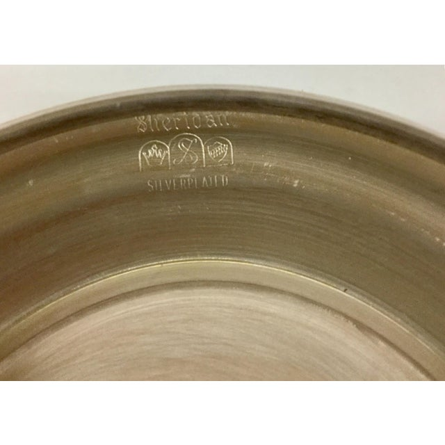 1970s Art Nouveau Sheffield Silver-Plated Revere Bowl For Sale In Boston - Image 6 of 13