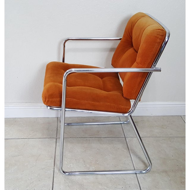 Vintage 1970s Mid Century Modern ChromeCraft Corp Chairs - Set of 3 For Sale - Image 6 of 13