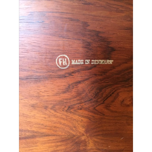 Fritz Hansen Danish Modern Folding Tray Table - Image 6 of 7