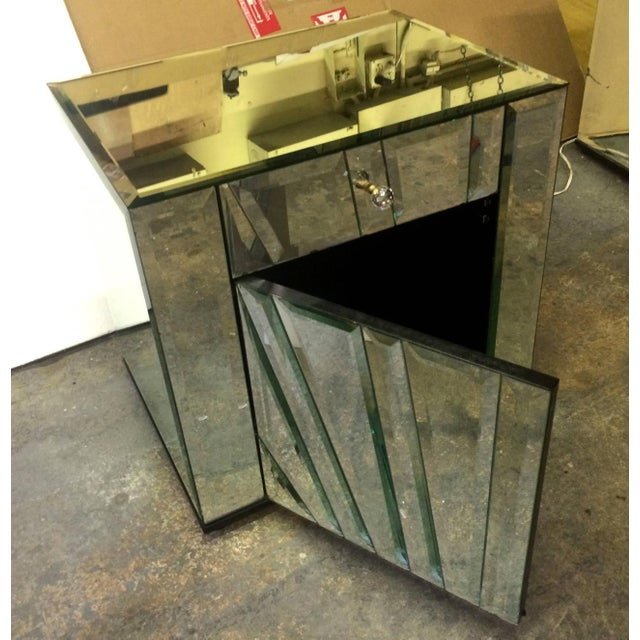 Ello Mirrored Nightstands Side Tables - Pair For Sale In Los Angeles - Image 6 of 6
