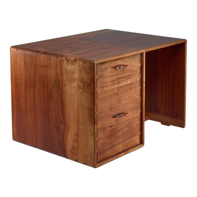 Jim Sweeney Studio Craft Wooden Desk, USA, 1970s For Sale