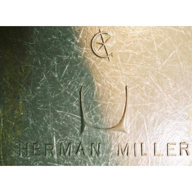 Herman Miller Eames Upholstered Fiberglass Shell Chair - Vintage - Image 8 of 8
