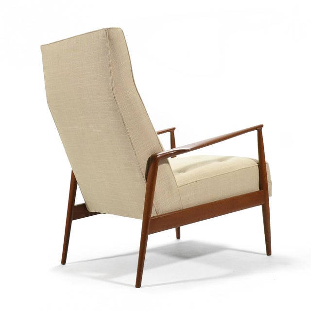 Ib Kofod-Larsen Highback Lounge Chair For Sale In Chicago - Image 6 of 9