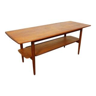"Original Danish Teak Coffee Table - ""Henrik"""