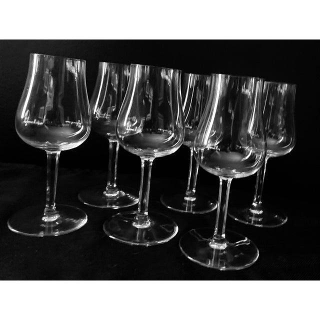Transparent Baccaret Claret Wine Glasses - Set of 6 For Sale - Image 8 of 9