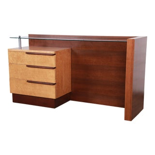 Gilbert Rohde for Herman Miller Art Deco Vanity, 1936 For Sale