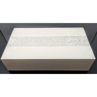 Handmade Pearl Finish Box With Mermaid Capiz Inlay Preview