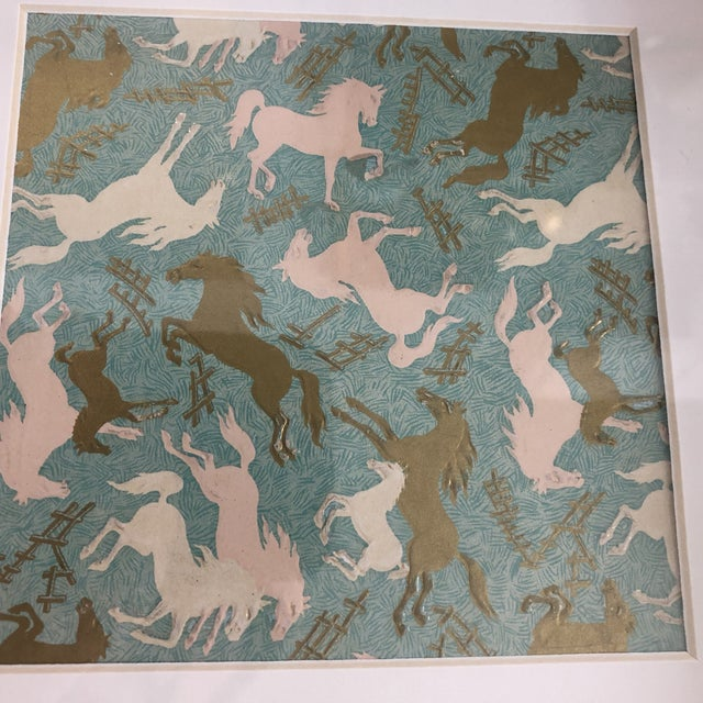 One of a Kind Equestrian Design by Elizabeth Arden For Sale - Image 4 of 8
