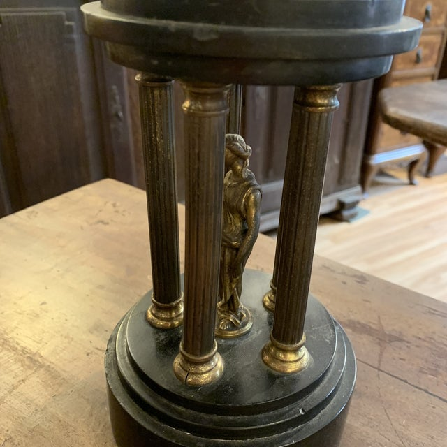 Classical Bronze Goddess Temple For Sale - Image 4 of 9
