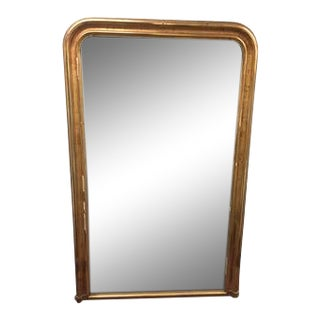 "Gold Leaf Louis Philippe Mirror 43""w X 69""h For Sale"